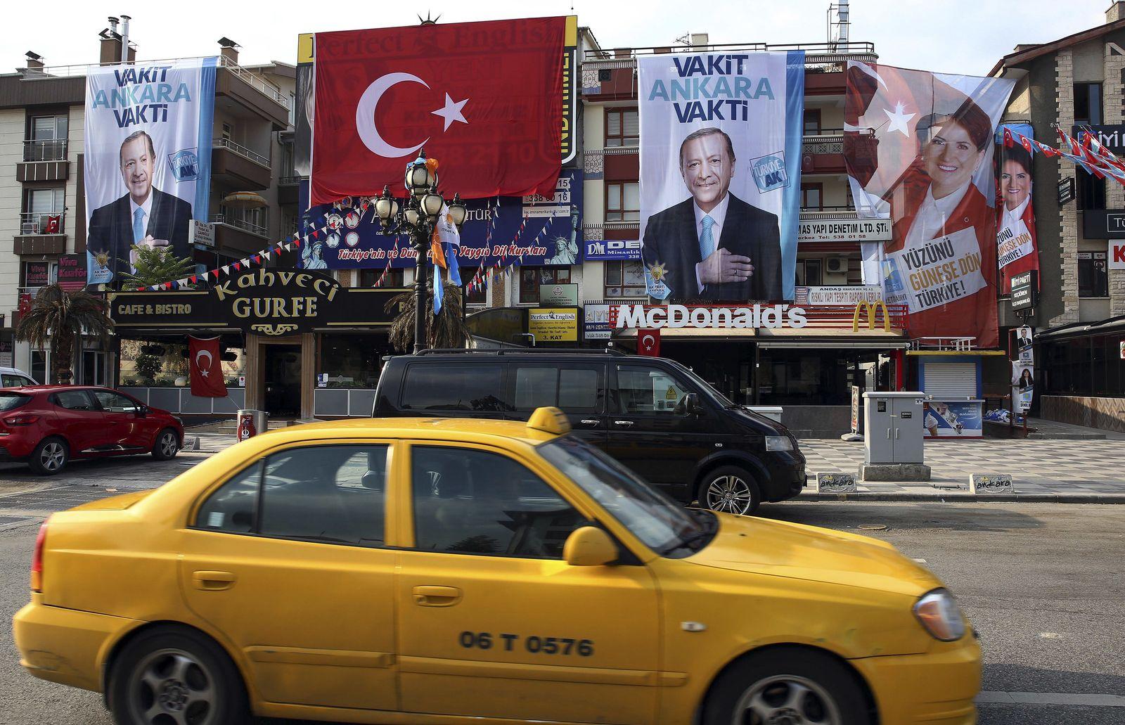 Präsidenten- und Parlamentswahlen in der Türkei