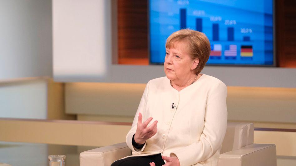 Angela Merkel bei Anne Will: »Wir haben ja alles parat, aber die Frage ist: Kommen wir zu den gleichen Schlussfolgerungen?«