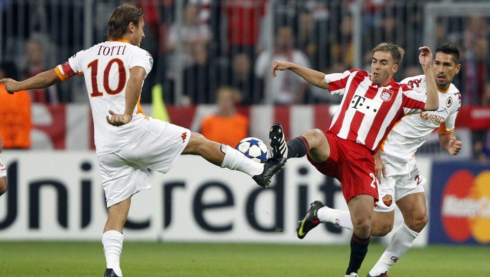 Bayern vs. AS Rom: Späte Treffer im Geduldsspiel