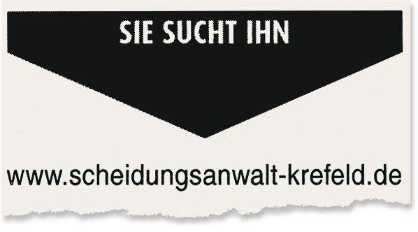 Kleinanzeige in der Wochenzeitung »Extra-Tipp Krefeld/Kempen«