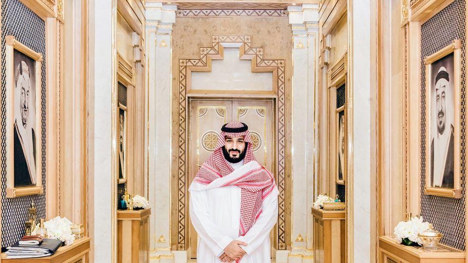 Prinz Mohammed im königlichen Wochenendhaus in Riad: Ein Reformer, aber kein Demokrat
