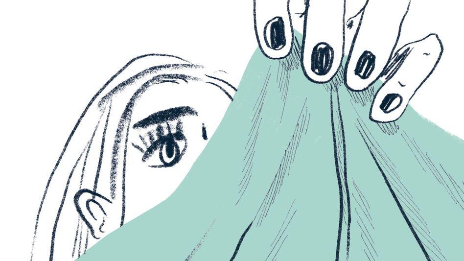 Illustration aus dem Jugendbuch »Papierklavier«
