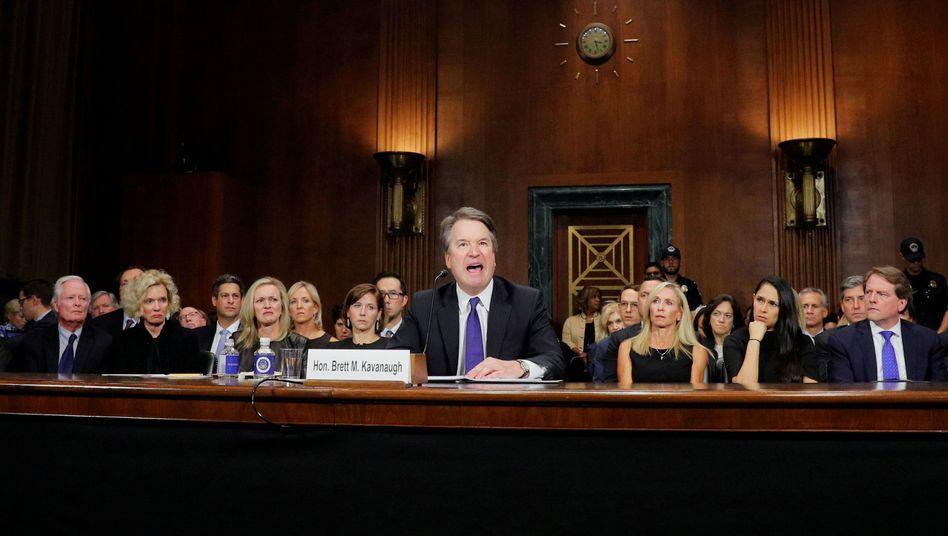 Kavanaugh bei seiner Anhörung