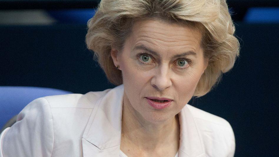 CDU-Politikerin Von der Leyen: Künftige Ministerin für Verteidigung