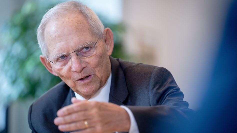 CDU-Politiker Schäuble: »Ich habe überhaupt nicht die Sorge, dass dieser Wahlkampf besonders schmutzig werden könnte«