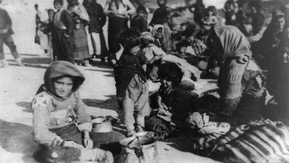 Armenische Flüchtlinge 1915 in Syrien: Bis zu 1,5 Millionen Tote