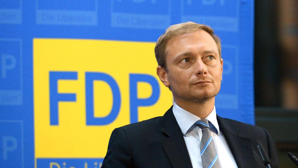 FDP-Vorsitzender Christian Lindner: Dosierung erhöhen