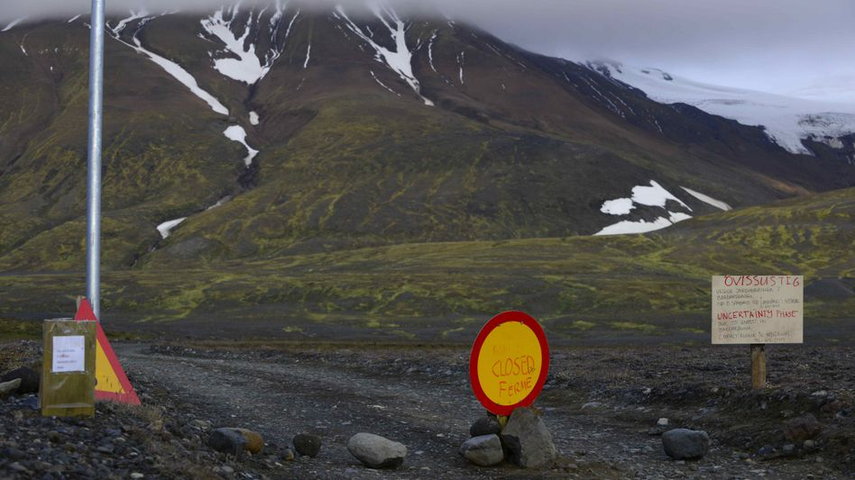Warnstufe Rot: Starkes Erdbeben erschüttert isländischen Vulkan