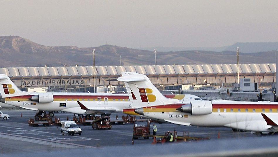 Maschinen in Madrid: Hunderte Flüge in den kommenden Tagen gestrichen