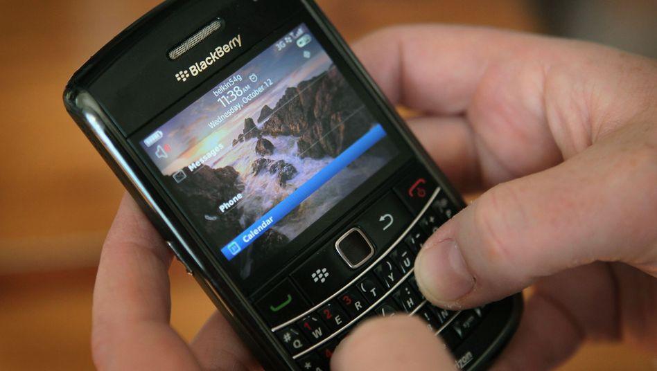 Blackberry-Smartphone: Häufige Treffen führender Manager