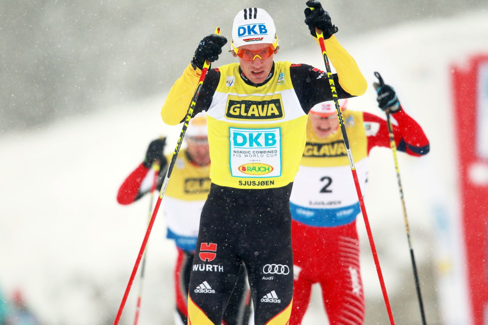 Nordic Combined World Cup competition in Sjusjoen