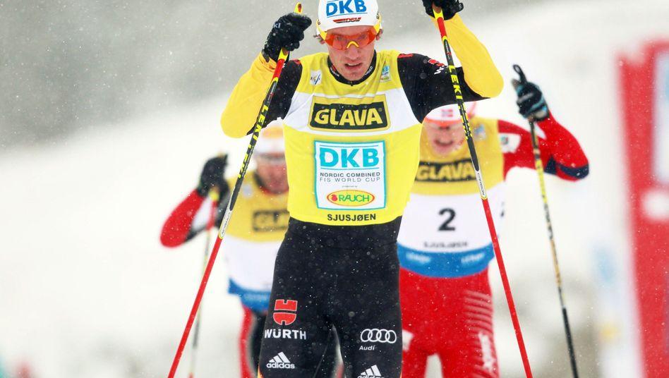 Kombinierer Edelmann: Dritter beim Weltcup in Lillehammer