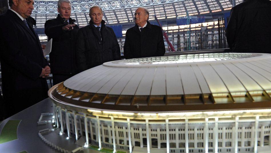 WM-Gastgeber Russland: Streichungen beim Turnier-Budget