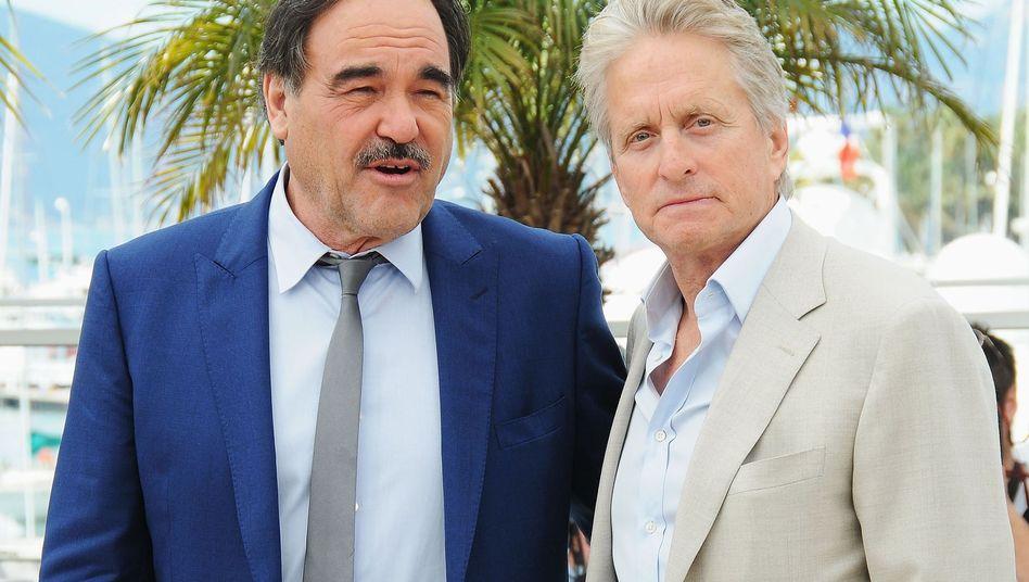 "Oliver Stone und Michael Douglas: ""Er leidet"""