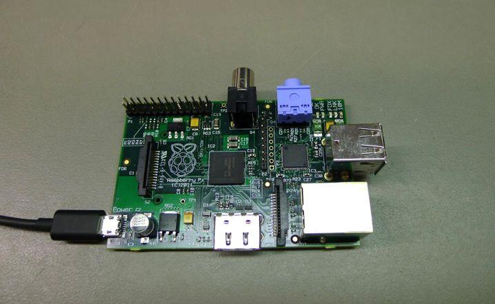 Raspberry Pi: Im Online-Handel kostet der Einplatinenrechner weniger als 50 Euro