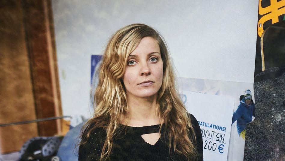 """Snowboarderin Silvia Mittermüller: """"Du bist hier nicht zum Spaß!"""""""