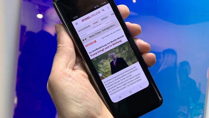 Faltbares Smartphone: Das ist Samsungs Galaxy Fold