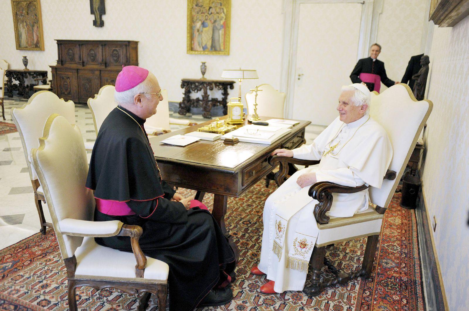 Zollitsch/ Papst Benedikt