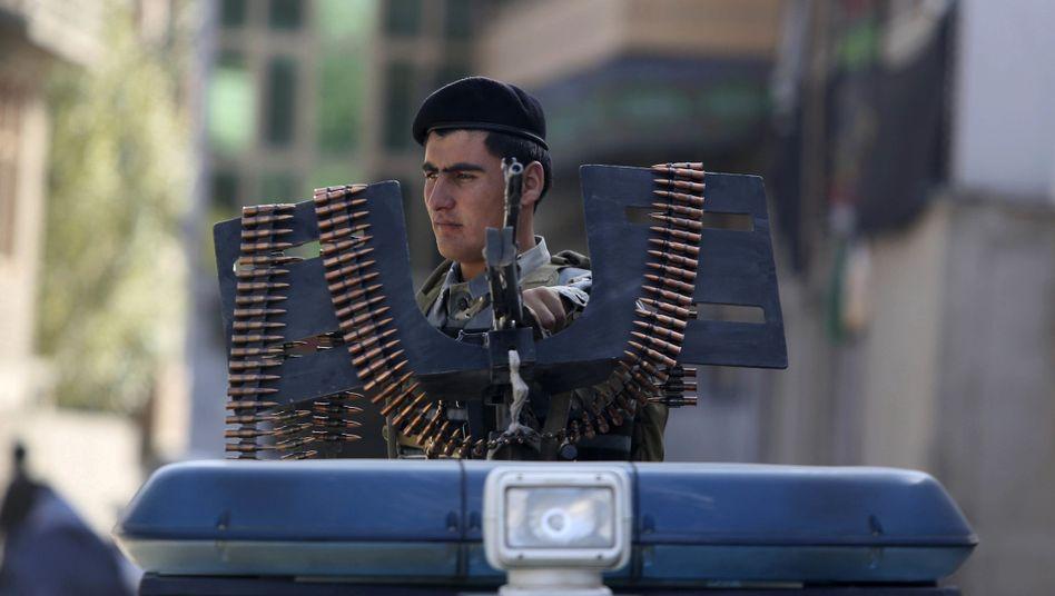 Sicherheitsvorkehrungen zum schiitischen Acshura-Fest, Kabul