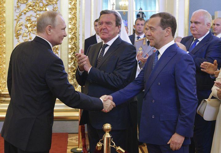 Putins Amtseinführung
