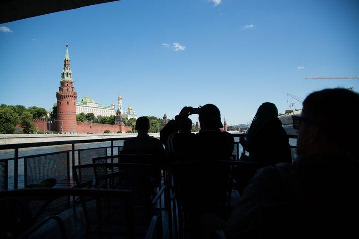 Fotos am Kreml