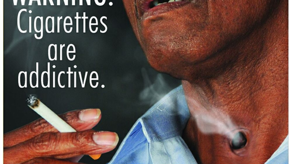 Schockbilder: Anti-Raucher-Kampf in den USA