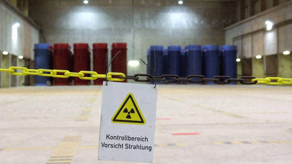 """Castorbehälter in Gorleben (Archivbild): """"Irreführend und unredlich"""""""