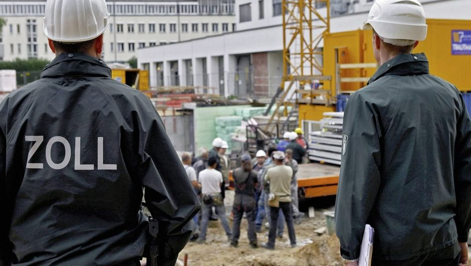 Baustellenkontrolle in Frankfurt am Main