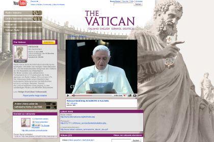Vatikan-Präsenz bei YouTube: Zwei-Minuten-News und Ausschnitte aus Reden, Nachrichten aus der Presseabteilung