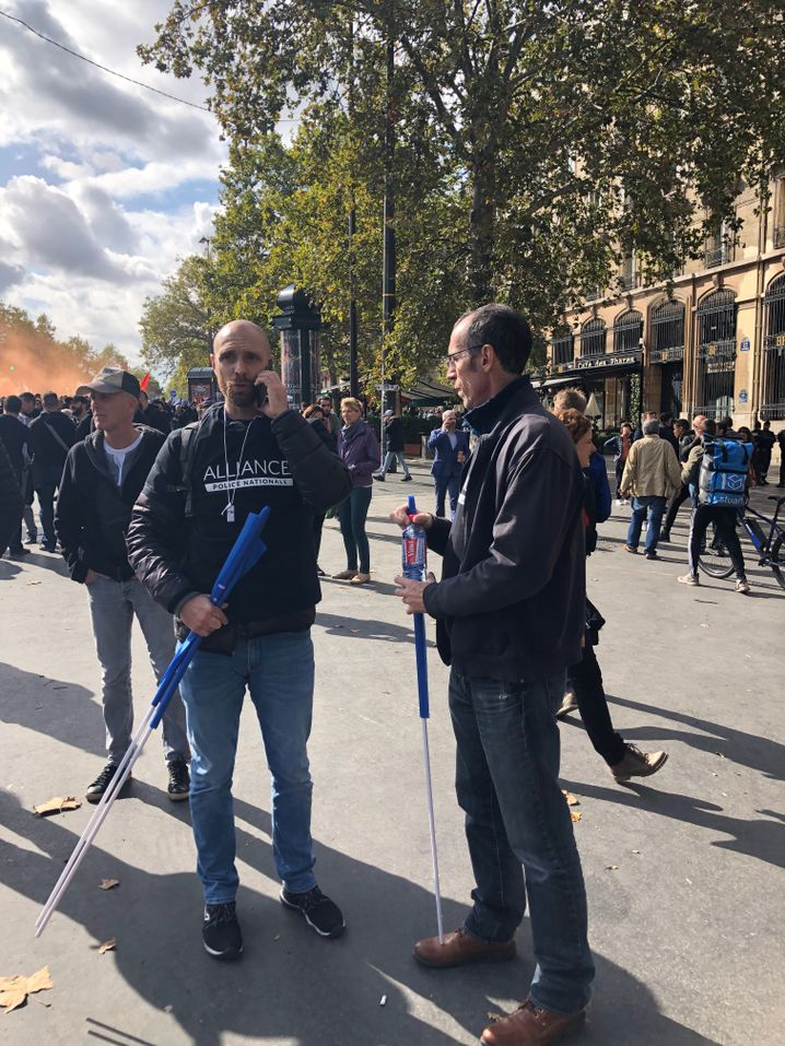 Seit den Terroranschlägen 2015 befindet sich die französische Polizei im Dauereinsatz