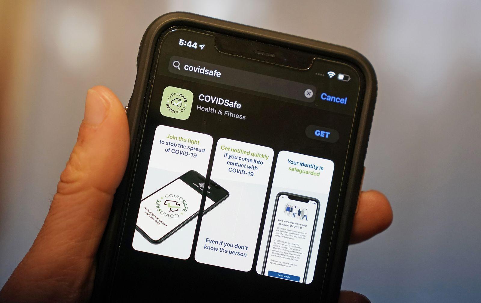 Coronavirus - Freiwillige Corona-App in Australien