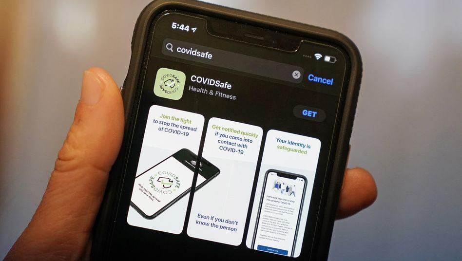 Eine Anti-Corona-App aus Australien: Das deutsche Pendant ist noch in der Entwicklung