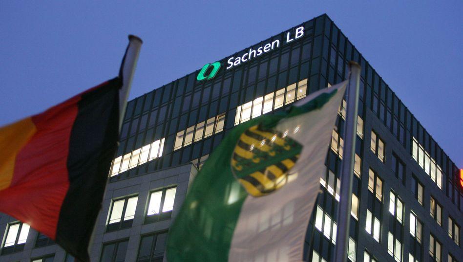 Sachsen LB (Archivbild): Anklagen gegen Ex-Vorstände in Sicht