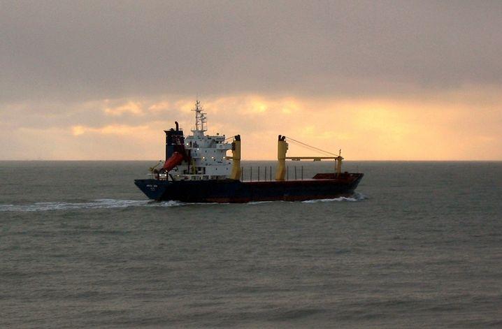 """Undatiertes Foto des Frachters """"Arctic Sea"""""""