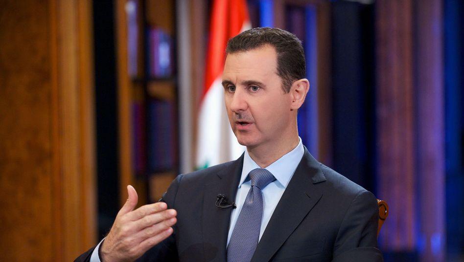 """Präsident Assad: """"Die Verantwortung reicht bis in die höchste Regierungsebene"""""""