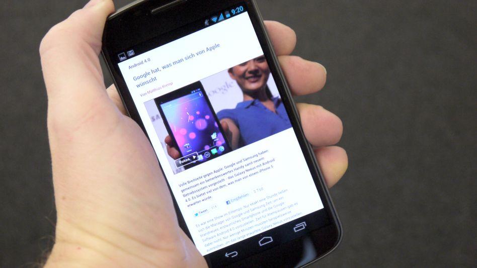 Samsung Galaxy Nexus: Zu viele Apple-ähnliche Funktionen an Bord?