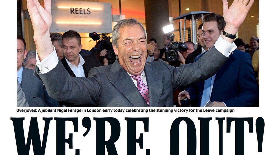 """Daily Mail""-Schlagzeile"