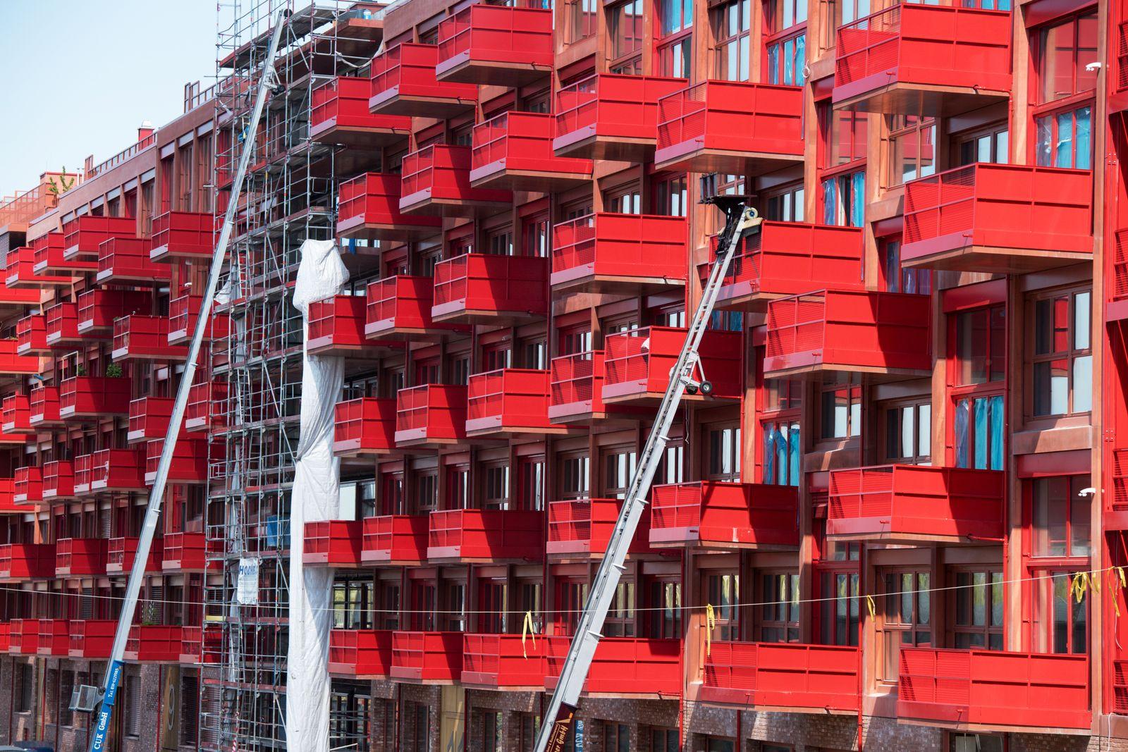 Berlin / Wohnungsneubauten / Immobilien