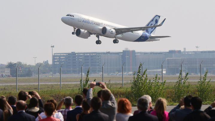 Erstflug des A320neo: Premiere für das Sparmodell von Airbus