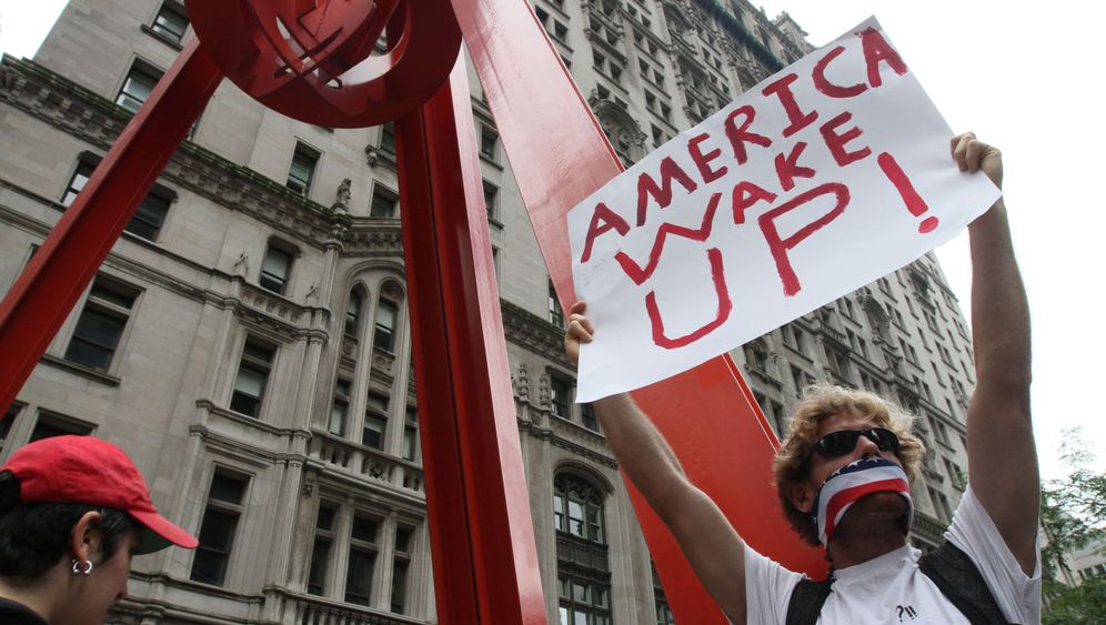 Wall-Street-Blockade: Protest in New York