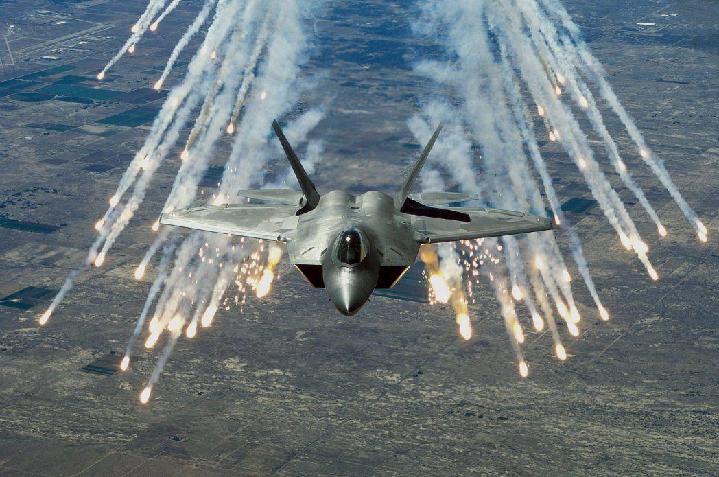 Kampfjet F-22