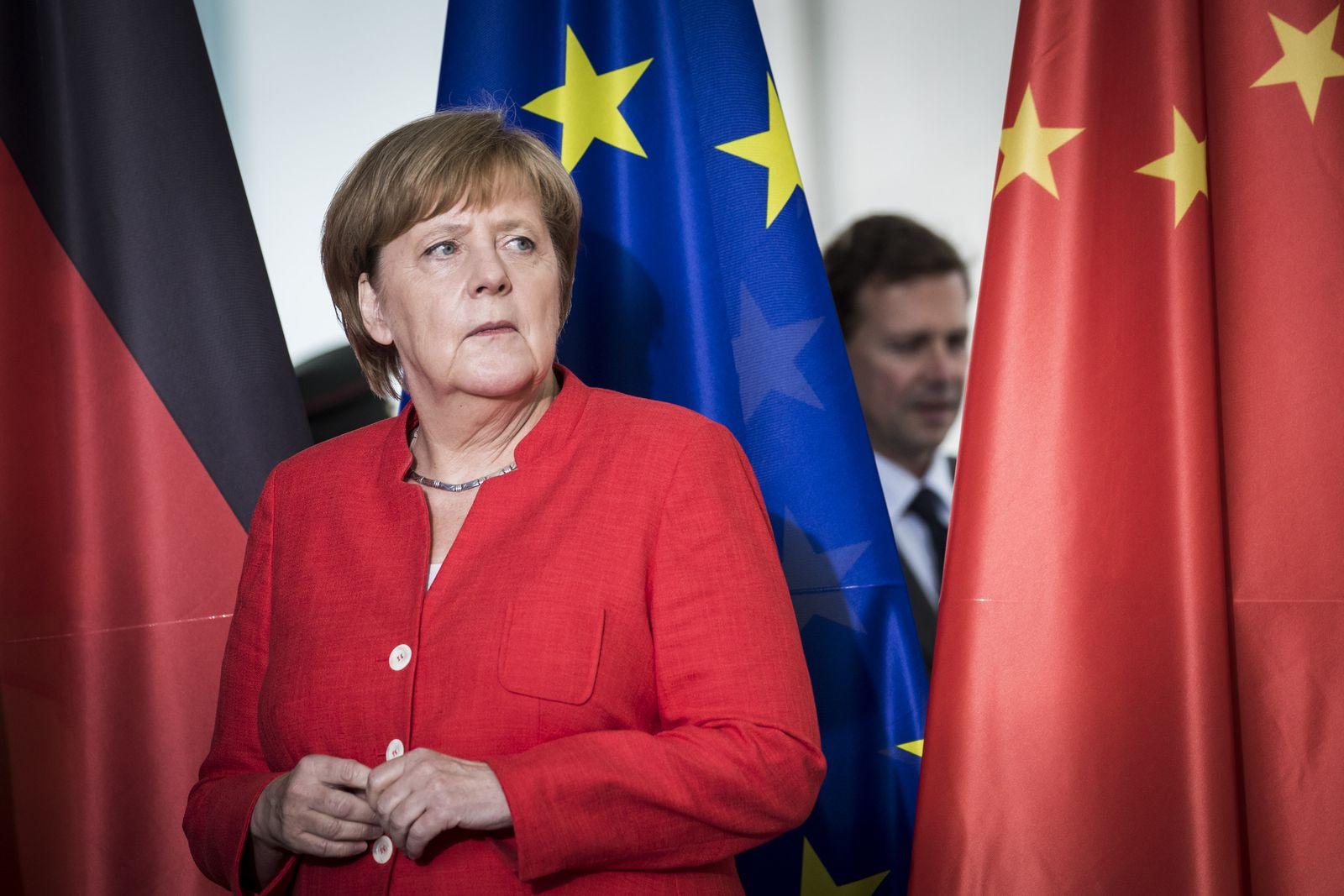 EINMALIGE VERWENDUNG Angela Merkel/ China