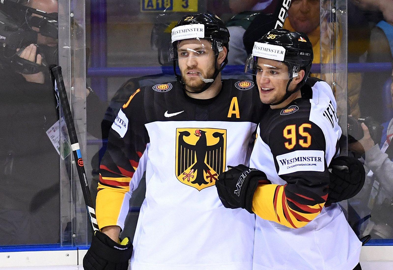 Eishockey WM: Deutschland - USA