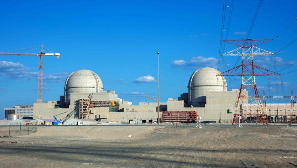AtomkraftwerkBaraka im Westen der Emirate
