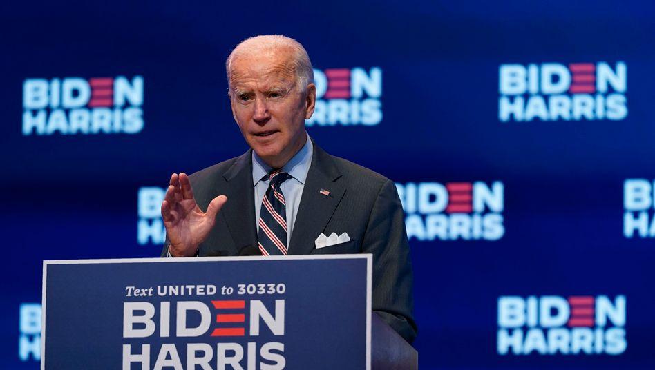 Joe Biden ermahnt die britische Regierung