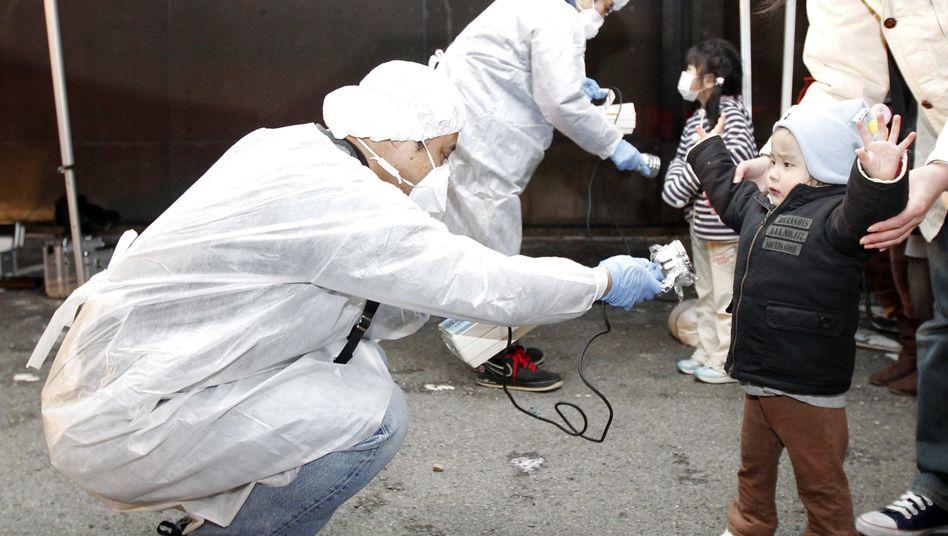 Koriyama am 13. März 2011: Mangelnde Information über Strahlenbelastung