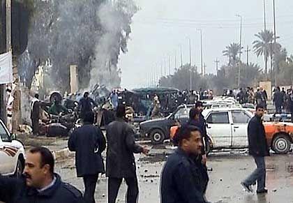 Bombenanschlag in Kerbala: Unter den Opfern sind viele Frauen und Kinder