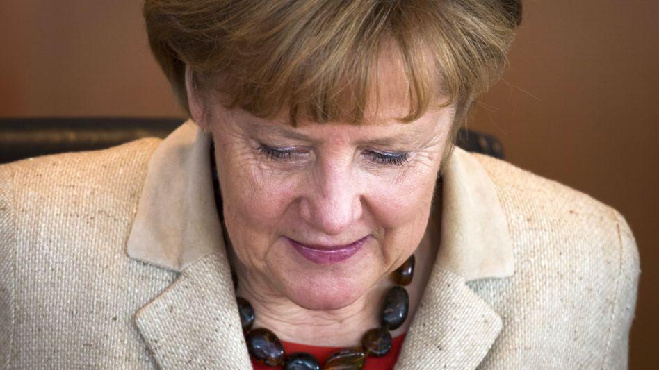 Kanzlerin Merkel: Schuldenabbau im Vordergrund