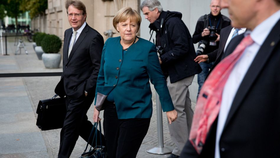 Merkel last Friday after a first round of preliminary coalition talks with the SPD.