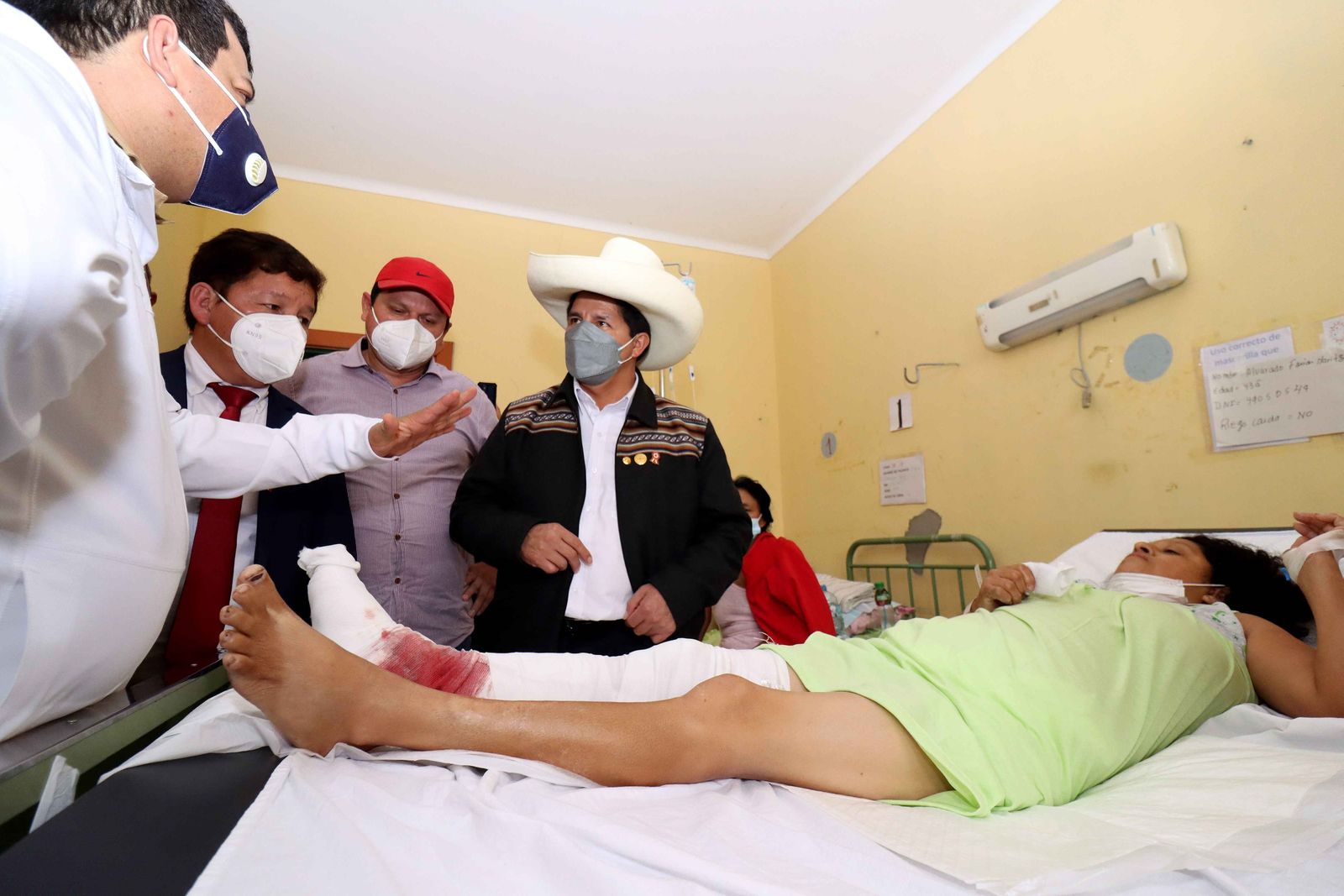 At least 41 injured, 3 of them serious, after earthquake in northern Peru